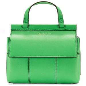 Tory Burch Satchel in Court Green