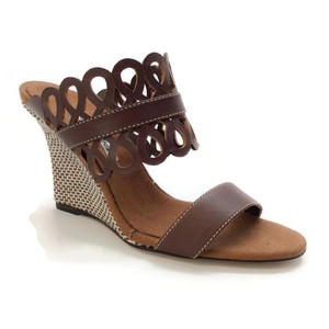Manolo Blahnik chocolate Wedges