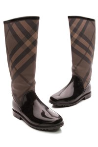Burberry Smoked check (brown/black) Boots