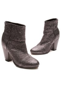 Rag & Bone Gunmetal (Metallic dark gray) Boots