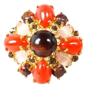 Kate Spade Stunning Authentic Kate Spade BURST INTO BLOOM Multi Stone Ring