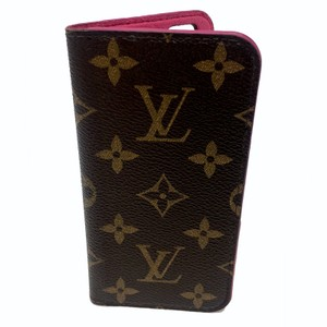 Louis Vuitton Louis Vuitton Signature LV Monogram Folio Pink Iphone 6 6s Phone Case
