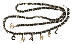 Chanel Authentic Chanel Classic gold tone Chain Belt with Charms