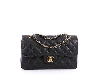 Chanel Caviar Double Flap Classic Caviar Shoulder Bag