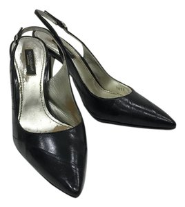 Dolce&Gabbana Pointed Toe Leather Black Pumps