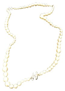 Chanel Brand new Chanel faux pearl necklace CC logo
