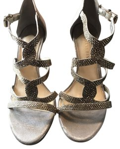 Gianni Bini Gold with Gold Stones Sandals