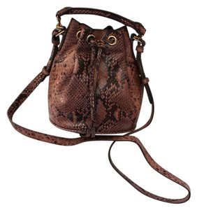 Ann Taylor Python Cross Body Bag