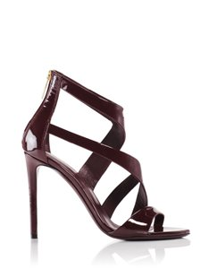 Tamara Mellon Burgundy Sandals