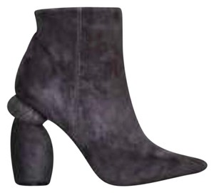 Jeffrey Campbell Grey/ suede Boots
