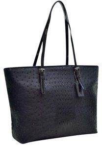 Other Ostrich Free Ship Tote in Black