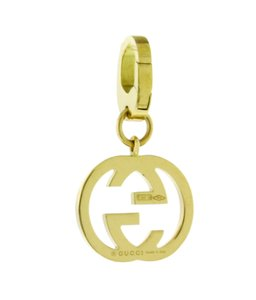 Gucci Gucci Charms 18k yellow gold pendant / charm new in Gucci box