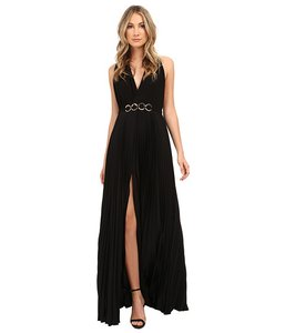 Halston Heritage Sleeveless Formal Classic Dress