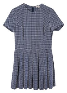 Opening Ceremony short dress Navy Gingham Summer Gingham on Tradesy