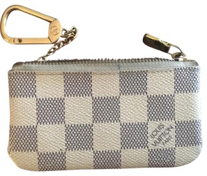 Louis Vuitton Wristlet in blue and white