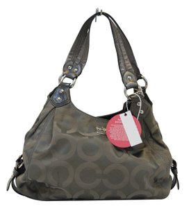 Coach Madison Grey Handbag Shoulder Bag