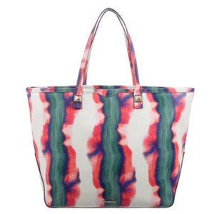Rebecca Minkoff Tote in Pink, Green, White, Blue