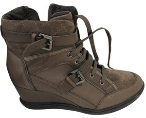 Geox Dove Grey Boots