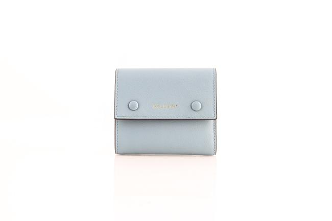 Item - Simone Foldover In Orchid Blue Wallet