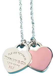 Tiffany & Co. Tiffany & Co. Sterling Silver Mini Heart & Mini Return Tag