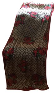 Louis Vuitton scarf/shawl with red roses