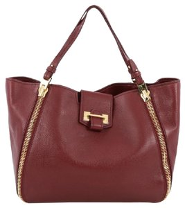 Tom Ford Leather Tote in Red