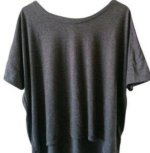Old Navy T Shirt Dark purple with heather gray undertones