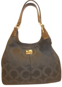 Coach Refurbished Monogram Jacquard Multi-compartment X-lg Hobo Bag