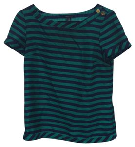 Tommy Hilfiger Top turquoise and navy blue