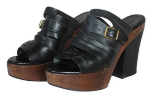 Robert Clergerie Black Platforms