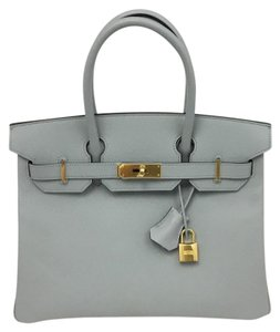 Hermès Tote in light grey
