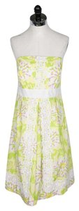 Lilly Pulitzer short dress Green and White on Tradesy