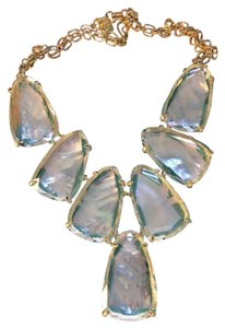 Kendra Scott Kendra Scott Harlow Necklace In Suspended Ivory Mother of Pearl