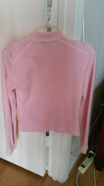 Juicy Couture Pink Sweatshirt Fits Like Xs No Bottom Drawstring Wears Nicely/comfy Jacket
