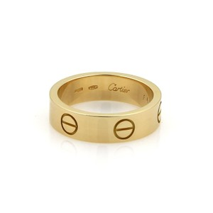 Cartier Cartier Love 18k Yellow Gold 5.5mm Wide Band Ring Size EU 55-US 7