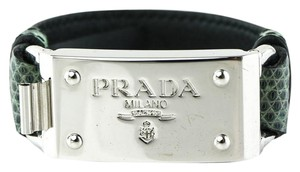 Prada * PRADA SAFFIANO LEATHER BRACELET