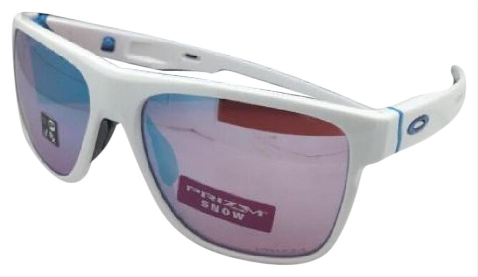 e766cffc719 Oakley OAKLEY Sunglasses CROSSRANGE XL OO9360-08 White+Interchangeable  Temple Image 0 ...