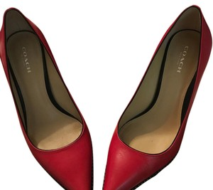 Coach True Red Pumps