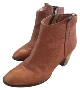 Madewell Leather Tan Boots