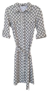 J. McLaughlin Gilchrist Catalina Catalina Cloth Safari Button Up Pattern Button Up Belted Dress