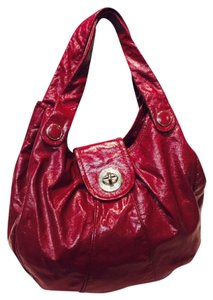 Marc by Marc Jacobs Patent Leather Oversized Hobo Bag
