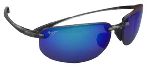 Maui Jim Polarized MAUI JIM Sunglasses HO'OKIPA 407-11 Smoke Grey+Blue Hawaii