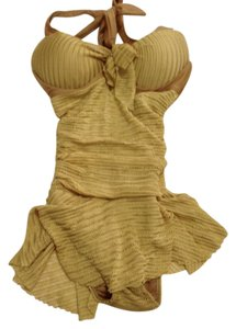 Oumeies gold swimsuit