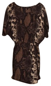 Express short dress Snake Print on Tradesy