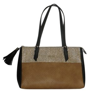 Nine West Tote in Black Tan
