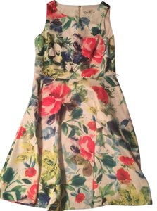 Eliza J short dress Multi Eliza Wedding Guest Floral Sheath Work Date Night on Tradesy