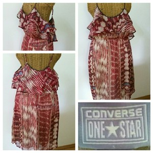 Converse short dress Boho Tank on Tradesy
