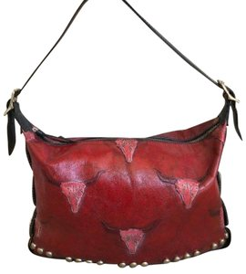 Barry Kieselstein-Cord Leather Shoulder Bag