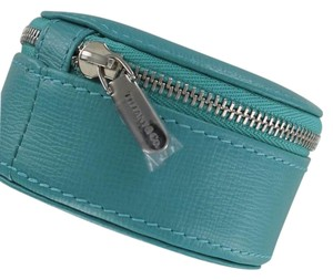 Tiffany & Co. NEW Tiffany & Co Round Travel Jewelry Case 3