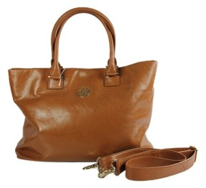 Tory Burch Crossbody Satchel Tote in Brown